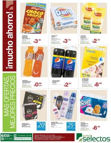 Productos basicos para el hogar ofertas SUPER SELECTOs - 07mar14