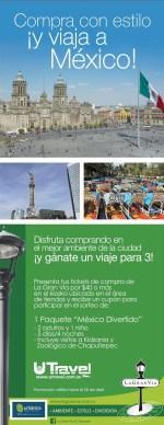 Promocion LA GRAN VIA y UTRAVEL viaja a mexico