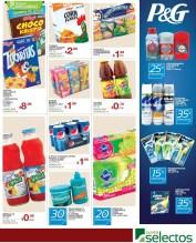 SUPER SELECTOS descuentos en productos P&G gillete - 15mar14