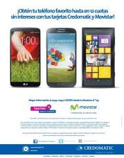 Smartphone MOVISTAR con 12 cuotas sin interes BAC Credomatic