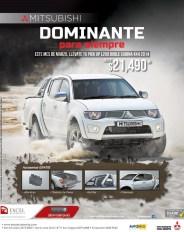 TRUCK 2014 Mitsubishi 4x4 pickup DOMINANTE