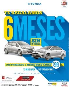 comprar auto el salvador TOYOTA Yaris - 13mar14