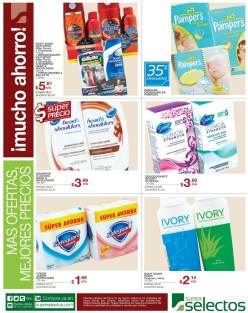 cremas ivory pampers gillette productos super selectos - 29mar14
