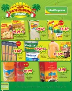pasta aceite granos gaseosas MAXI DESPENSA ofertas - 29mar14