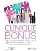 CLINIQUE Bonus por tus compras en SIMAN - 28abr14