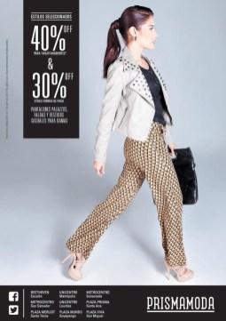DESCUENTO Prisma Moda el salvador estilos seleccionados - 04abr14