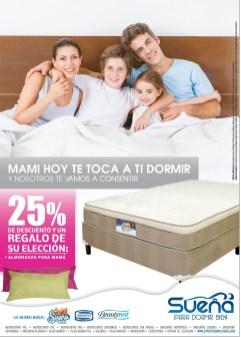 Descuentos en el regalo para MAMA camas SUEÑA