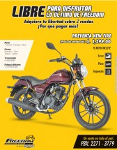 FREEDOM motorsport motorcycle promotion - 25abr14