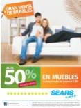 Gran venta de muebles 50 OFF en SEARS - 11abr14