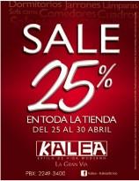 KALEA la granvia SALE discounts - 25abr14