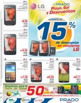Llevate 15 OFF en celulares LG oertas PRADO el salvador - 04abr14