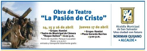 Obra de teatro LA PASION DE CRISTO semana santa