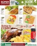 Pollo indio rostizado en combo papas y coca cola - 05abr14