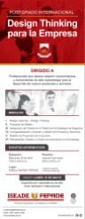 postgrado INTERNACIONA Design Thinking