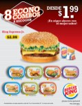 super ahorro Econo Combos BURGER KING