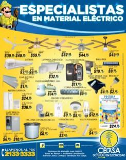 variedad en ventiladores de techo CELASA ferreteria - 28abr14