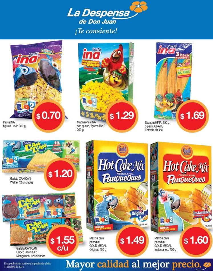 variedad pastas INA y galletas can can - 15abr14