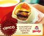 Burrito tipico WENDYs el salvador