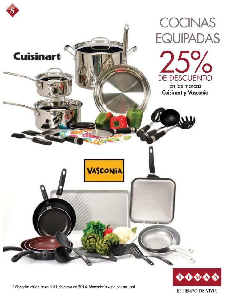 Cocinas equipadas con descuento CUISINART or VASCONIA - 14may14