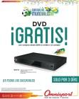 DVD player GRATIS buscalo en omnisport el salvador - 30may14