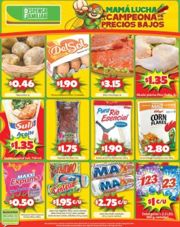 FIN DE SEMANA low price Despensa Familiar - 02may14