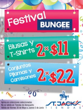 Festival BUNGEE by st jacks DESCUENTOS - 30may14