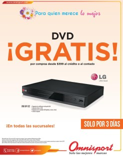 GRATIS DVD LG promocion OMNISPORT - 07may14