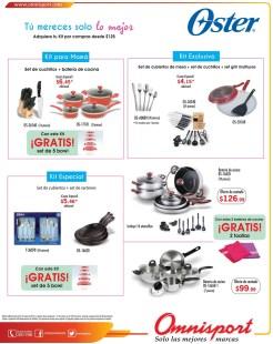 KIT especiales de cocina enseres y cubiertos OSTER - 15may14