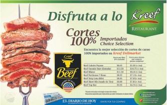 Kreef delimarket steak beef promotion - 09may14
