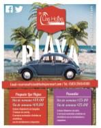 LA PLAYA vivela en las hojas beach resort - 29may14