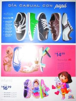 Los niños quieren ser como PAPA calzado PAYLESS