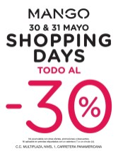 MANGO el salvador SHOPPINGS DAYS - 30may14
