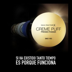 MAX FACTOR X creme puff pressed powder SINCE 1953