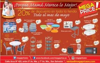 Mega PRICE tiene ofertas y descuentos para mama - 05may14