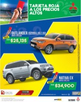 Mitsubishi Nativa and Outlander TARJETa ROJA - 07may14