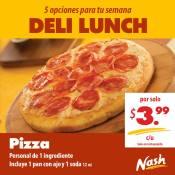 Nash deli lunch PIZZA promocion - may14
