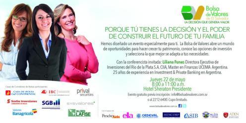 Oportunidad de aumentar tu patrimonio BOLSA DE VALORES de el salvador - mayo14