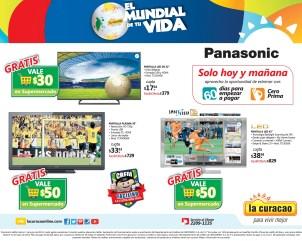 PANTALLA smart Viera Panasonic vive BRAZIL 2014 - 30may14