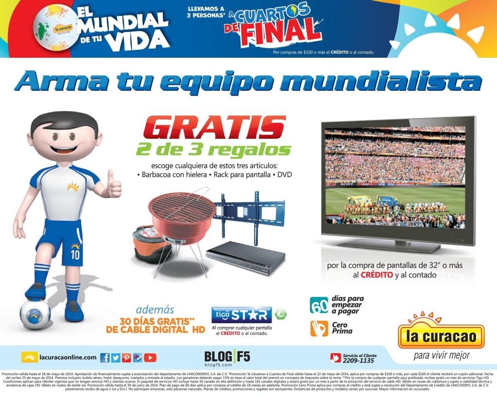 Paquete a los cuartos de final BRASIL 2014