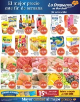 Prepara tus compras de fin de semana Despensa de Don Juan - 02may14