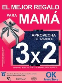 Promocion de JEANS store 3x2 savings - 09may14