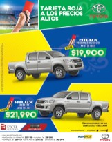 Tarjeta Roja TOYOTA HILUX savings - 07may14