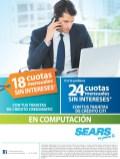 Tarjetas credomatic y SEARS promocion en computacion - 30may14
