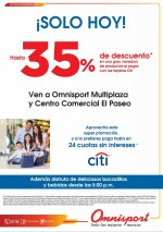Tarjetas de credito CITI descuento solo hoy - 08may14