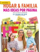 nueva revista HOGAR & FAMILIA magazine more ideas