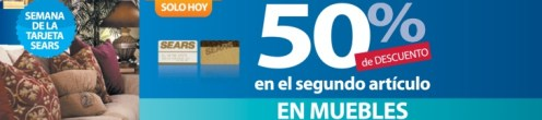 semana de la tarjeta SEARS 50 OFF - 15may14
