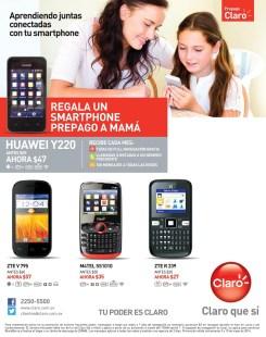 smartphone ZTE android tv CLARO el salvador - 09may14