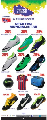 zapatos deportivos NIKE brazil 2014 world cup FIFA - 17may14