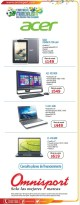 ACER laptops promociones OMNISPORT - 13jun14