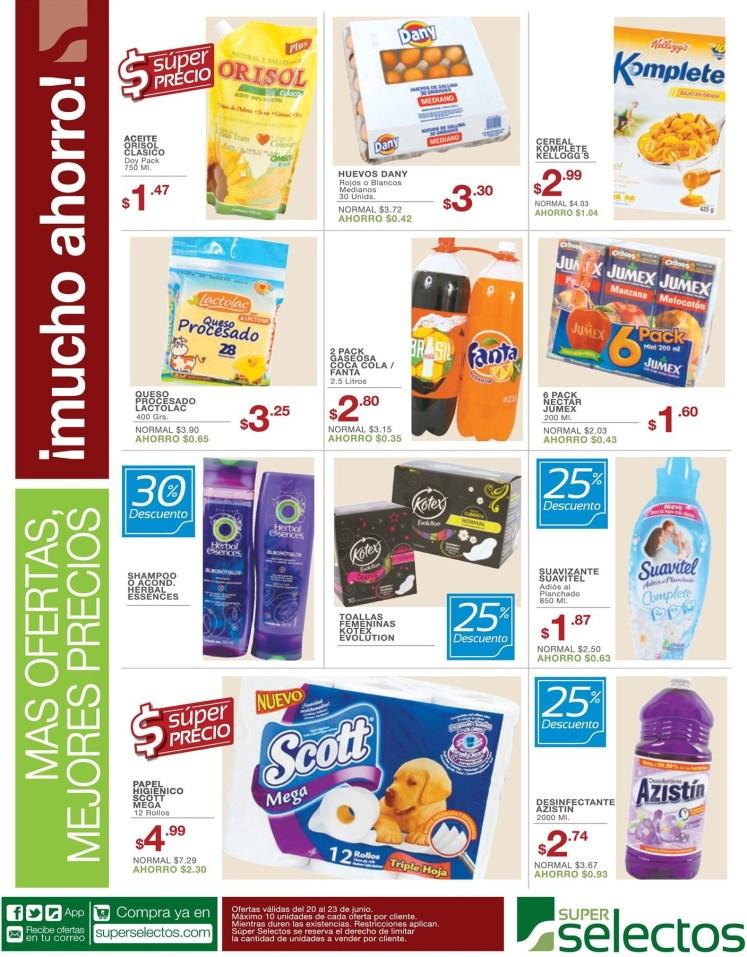 Ahorrar en tu compras super selectos el salvador - 20jun14
